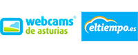 Logotipo de webcams de Asturias, enlace a video en directo del camping Amaido